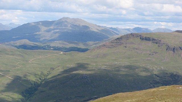 Pass beside Beinn Iadain