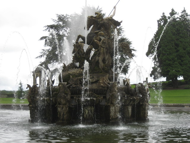 Witley Court,  Perseus and Andromeda Fountain