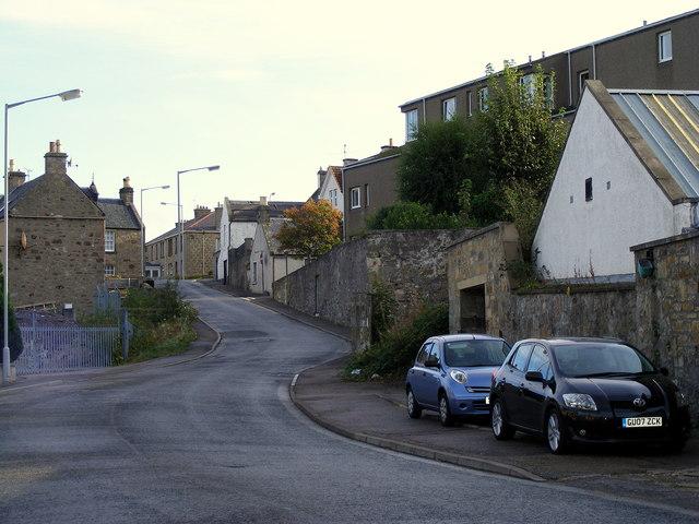 North Road at Forres