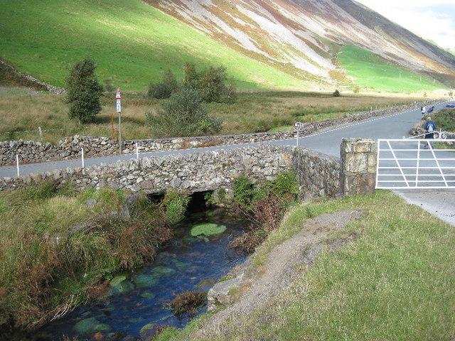 Bridge on the Afon Drws-y-coed