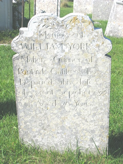 The grave of William York