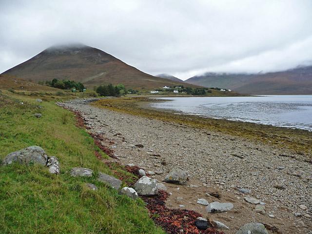 Shoreline at Luib