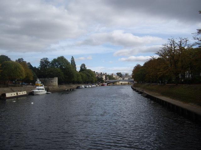 River Ouse through York