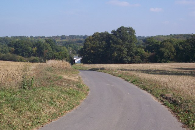 Access road to Forge Farm