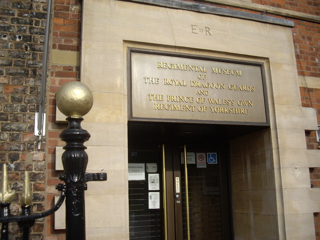 Entrance to Regimental Museum