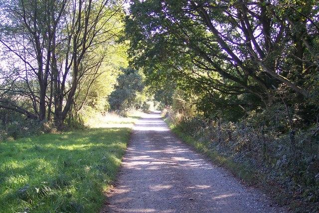 Access road towards Three Chimneys (2)