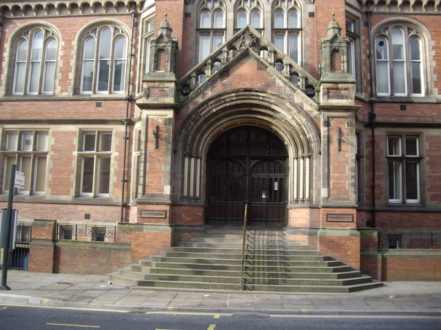 Main Entrance to York Law Courts