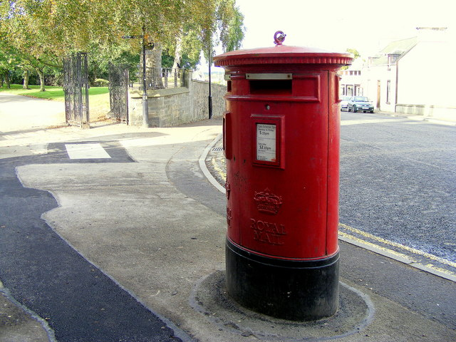Post box at Forres