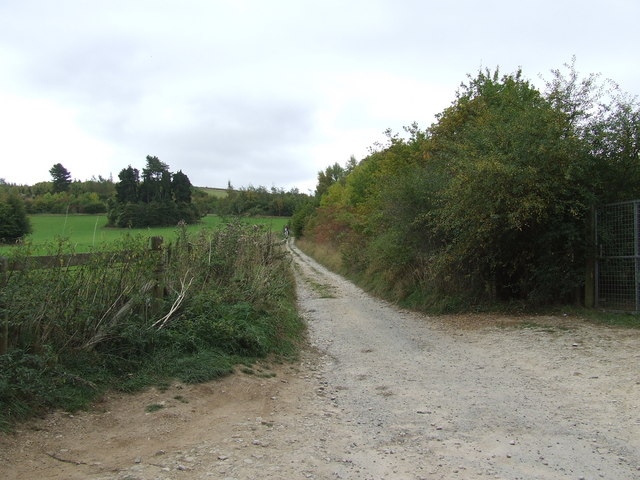 Old Road From Ullenwood to Shab Hill