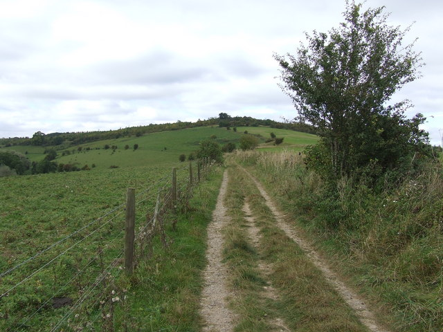 Old Road form Coberley to Cuckoopen Farm and Shab hill