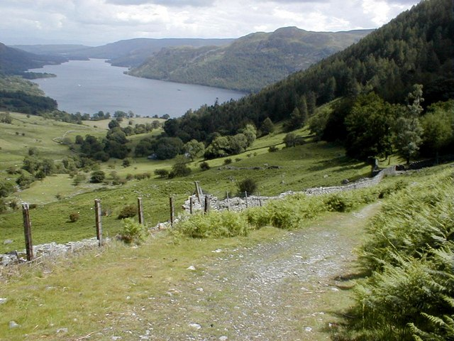 Footpath to Glencoyne and Ullswater