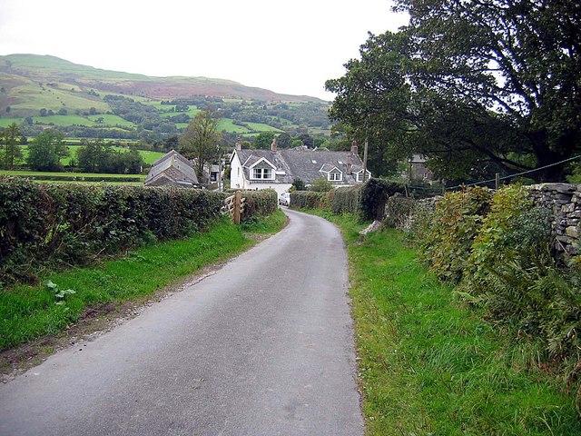 Lane approaching Boonbeck