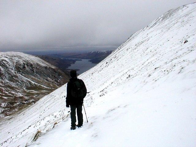 Nick Head in winter
