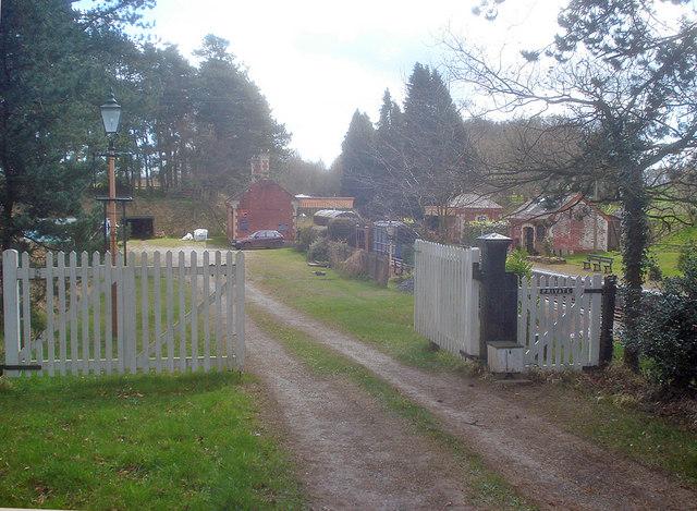 Entrance to Fencote Station