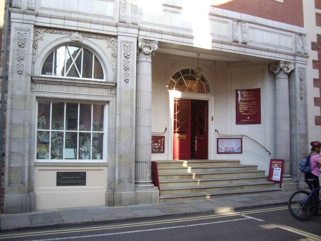 Entrance to Fairfax House