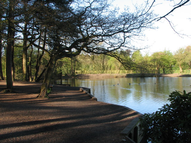 Lake at Cuerden Valley Park