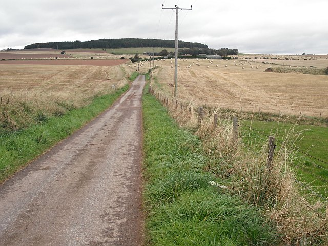 Minor road, Nether Woodston