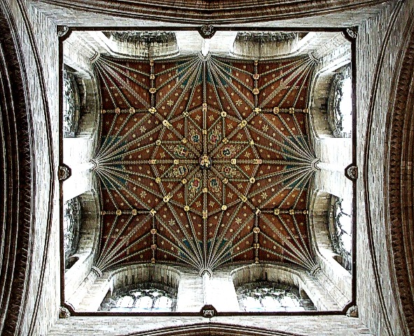 Peterborough Cathedral - Crossing Roof