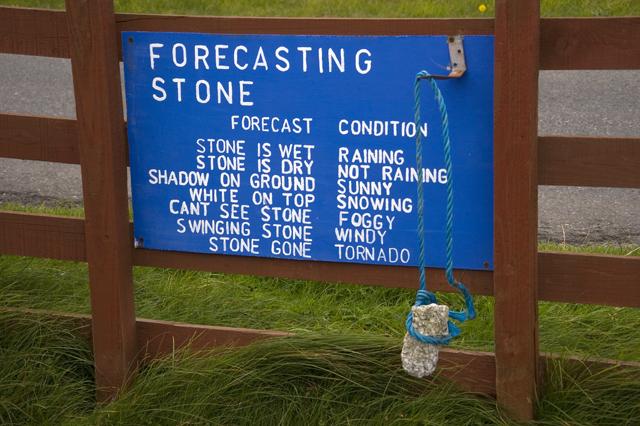 The Forecasting Stone