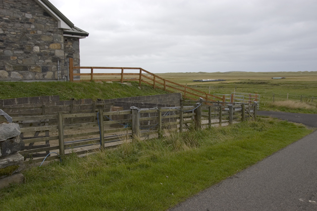 Sheep pens at Borgh