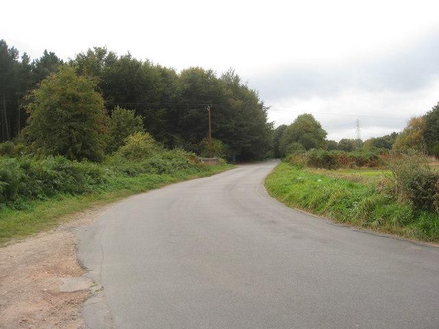 Brake Road - Sharp Bend