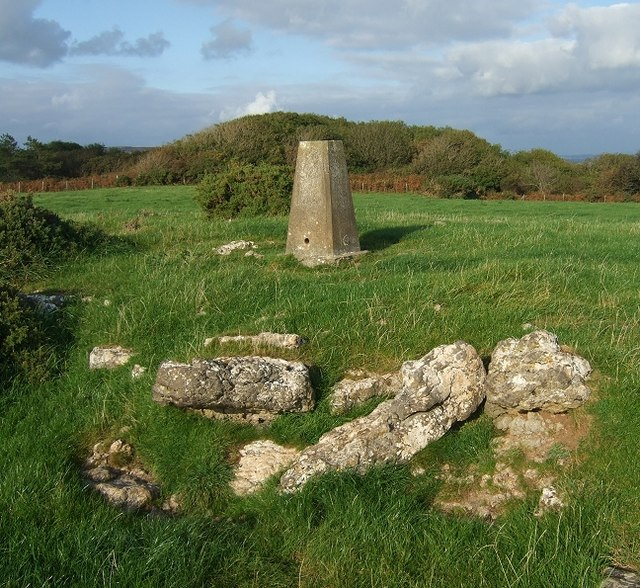 Triangulation Point, Oxwich Point