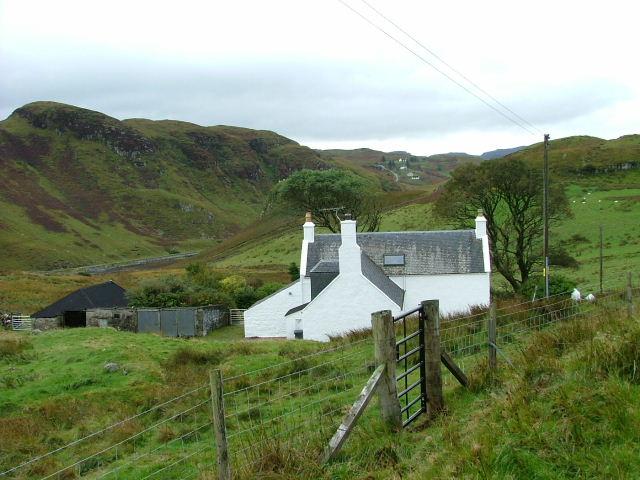 Croft house at Totardor
