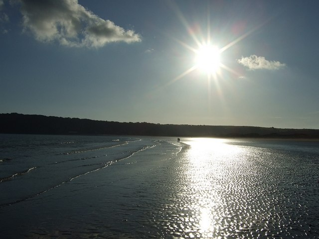 Oxwich Bay Sunset