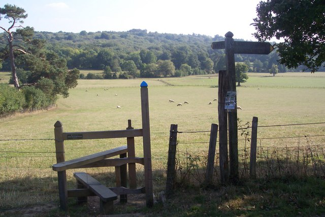 Stile in Scotney Estate