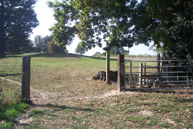 Unused stile and gate in Scotney Estate