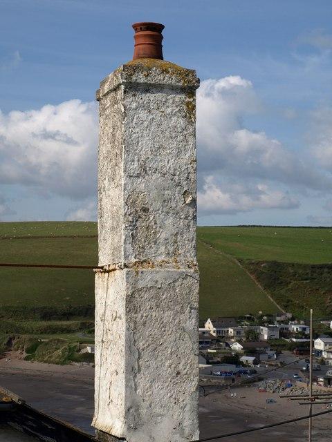 Chimney, Bigbury-on-Sea