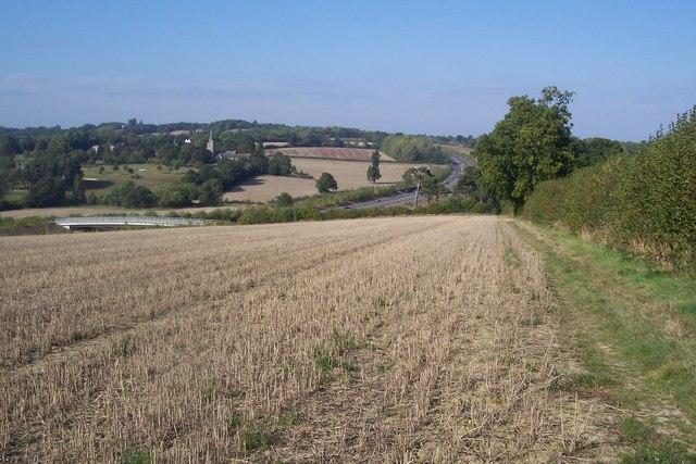 Footpath towards Lamberhurst