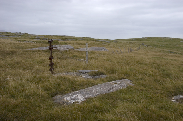 Fence on Beinn Shleibhe
