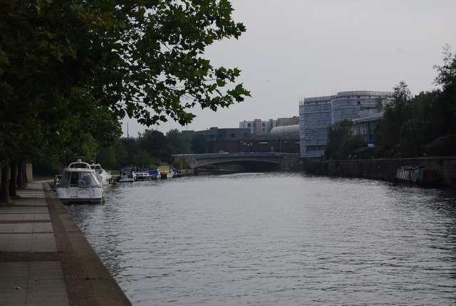 River Medway near Maidstone Town Centre