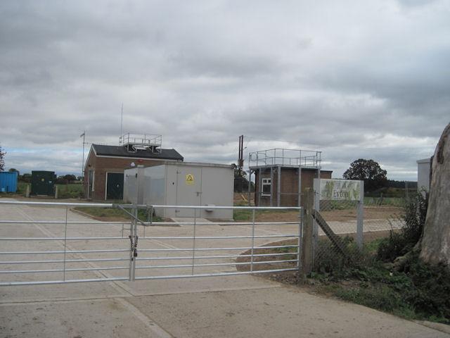 Eyton water pumping station