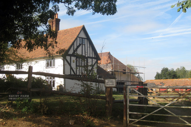 Oast House at Court Farm, High Street, Alyesford, Kent