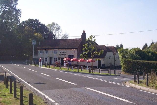 The Swan at the Vinehouse, Lamberhurst