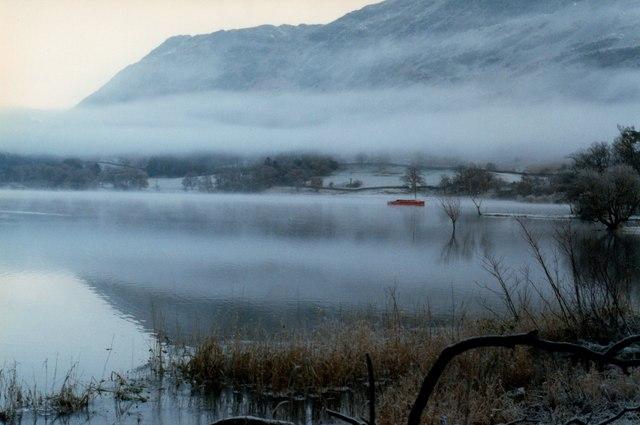 Mist over Ullswater