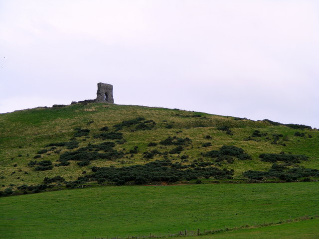 Ruined Fort at Dunnideer