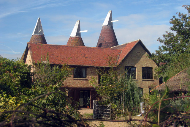 Oast House at Tottington Farm, Rochester Road, Aylesford, Kent