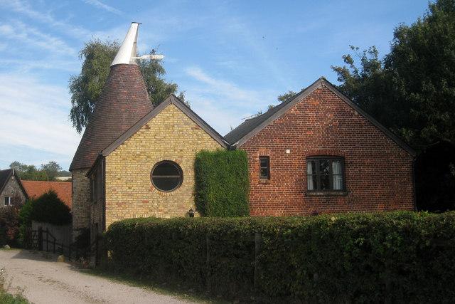 Oast House at Great Cossington Farm, Pratling Street, Aylesford, Kent