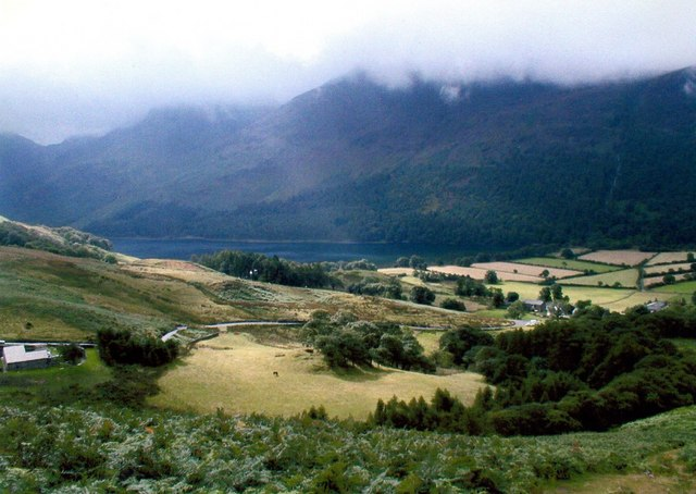 View from Whiteless Breast to Buttermere