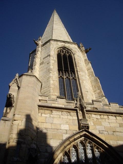 Gargoyles on the former St Mary's Church