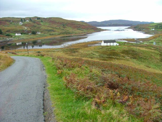 The head of Loch Beag