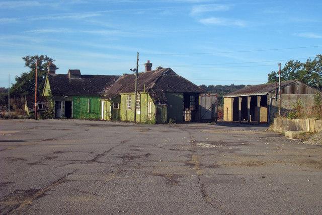 Derelict Building at Council Depot