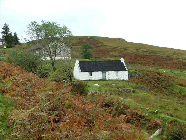 Old croft house at Coillore