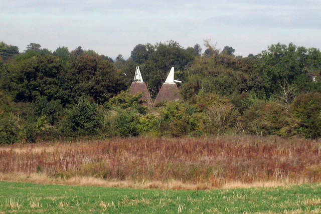 Oast House at Bydews Barn, Farleigh Hill, Maidstone, Kent