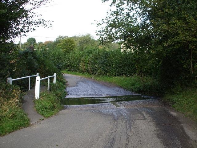 Ford at Oldlands Hill, Fairwarp