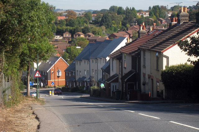Houses on Farleigh Hill