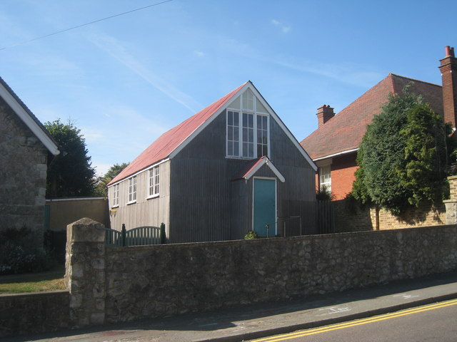 Hall behind The Methodist Chapel